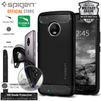 Moto G5 Plus Case Rugged Armor [Colour: Black]