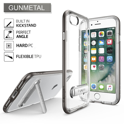 iPhone 7 Case Crystal Hybrid [Colour: Gunmetal]