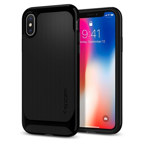 iPhone X Case Neo Hybrid [Colour:Jet Black]