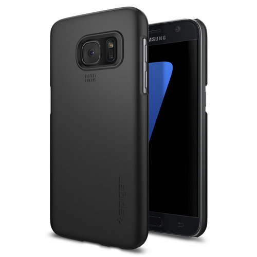 Galaxy S7 Case Thin Fit[Colour: Black]