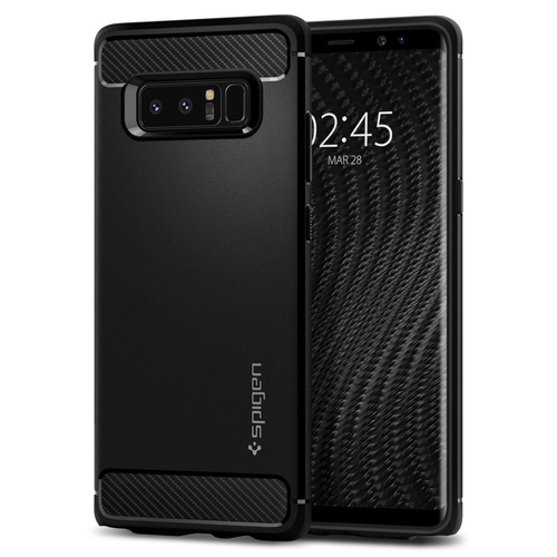 Galaxy Note 8 Case Rugged Armor [Colour:Black]