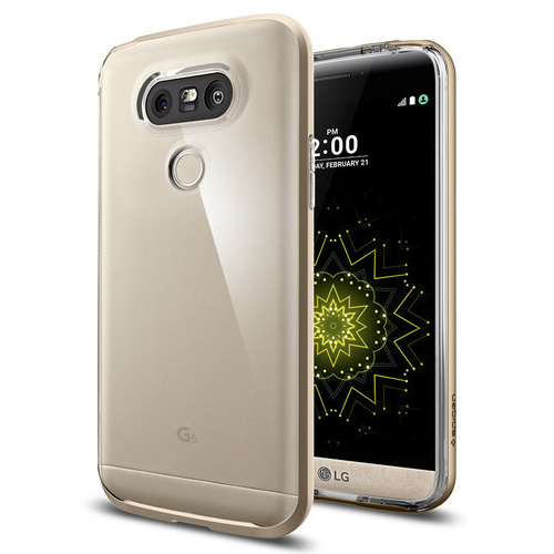 LG G5 Case Neo Hybrid Crystal [Colour: Champagne Gold]