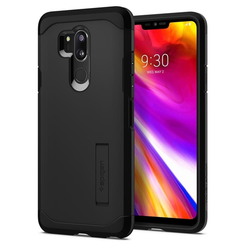 LG G7 ThinQ Case Tough Armor [Colour:Black]