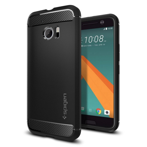 HTC 10 Case Rugged Armor [Colour: Black]
