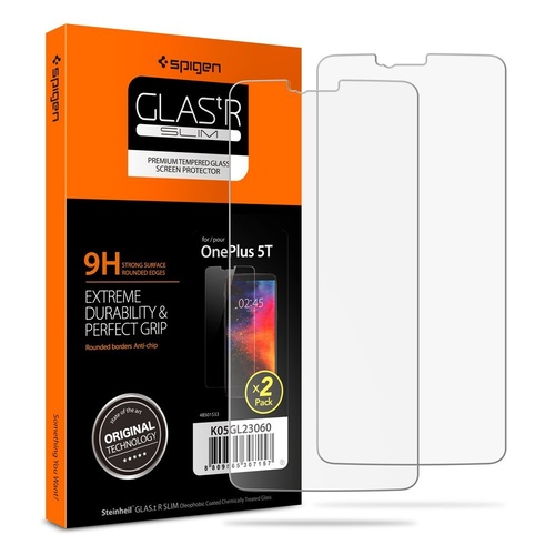 OnePlus 5T Screen Protector GLAS.tR Slim [Colour:Clear]