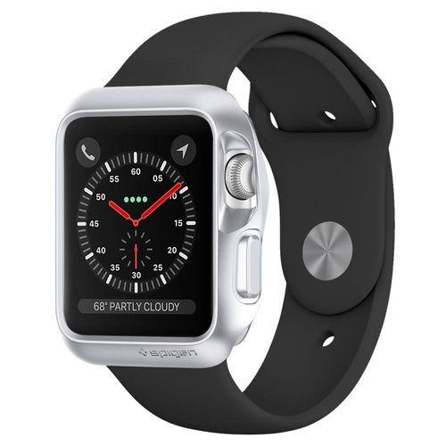 Apple Watch Series 3 (42mm) Case Slim Armor [Colour:Silver]